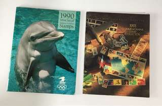 USA Commemorative Stamps Collection 1990 & 1991, 2008 - 2012