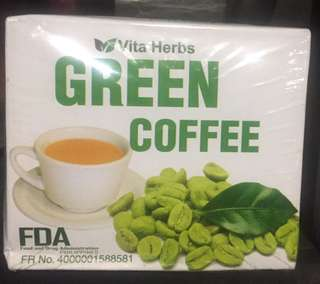 Green coffee 10sachets 1 box