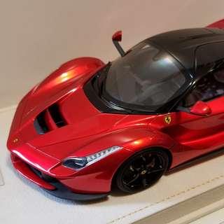 1/18 MR Laferrari Ferrari F1 Red Metallic resin 法拉利 完成品 tamiya kyosho bbr looksmart