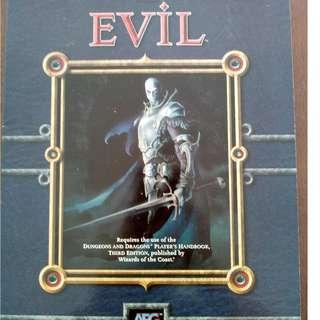 d20 system RPG book - Evil