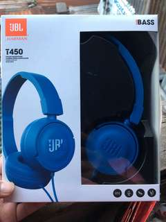 JBL Blue Headphones