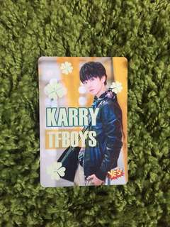 Karry TFBoys Yes! Card glow