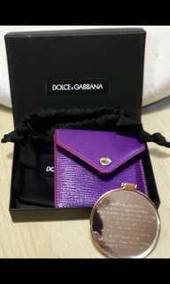 名版正貨Dolce & Gabbana 鏡連真皮套(2014非賣品)