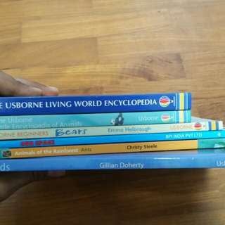 Colorful Informative Books for Young Scientists.