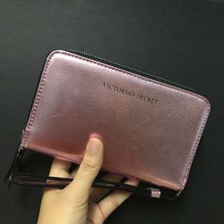 Victoria's Secret Zip Wallet in Pink