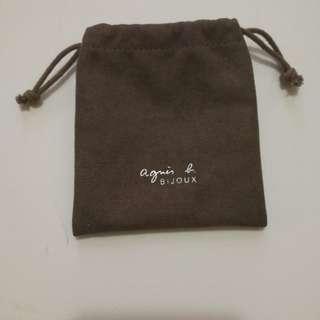 (包平郵)Agnes B 手飾塵袋一個