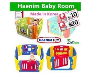 Pre-Loved Haenim 6-Panels Play Yard for Sale!