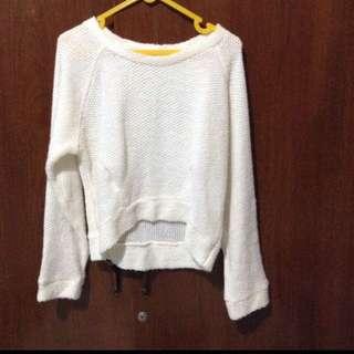 Sweater crop (crop top)