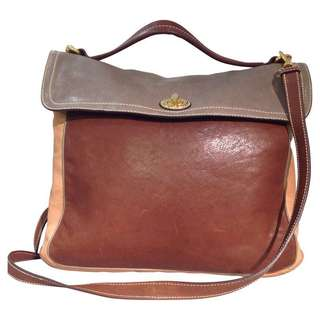 Car Shoes Leather Bag (Fabric Lining)
