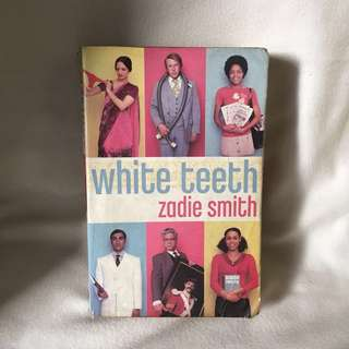 White Teeth book by Zadie Smith 📚 | 📖 B45