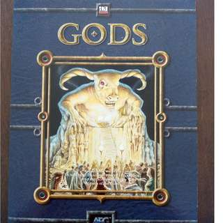 d20 system RPG book - GODS