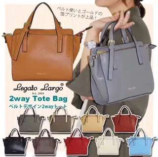 Legato Largo 2way tote bag