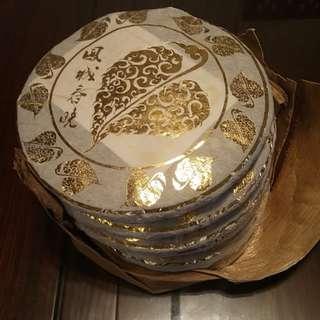 普洱茶餅400g(鳳城春曉)