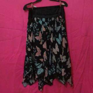 Pleated Butterfly Skirt