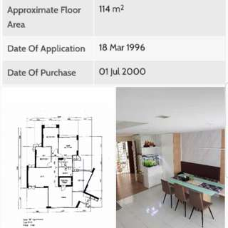 HDB 5rm for SALES...