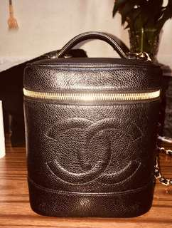 Chanel Vintage 化妝袋 中古 bucket bag 93%new 100%real