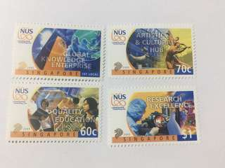 Singapore 2005 university education mnh