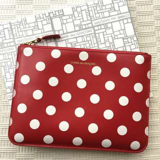 Comme des Garcons  leather pouch / bag  ***Made in Spain   ..