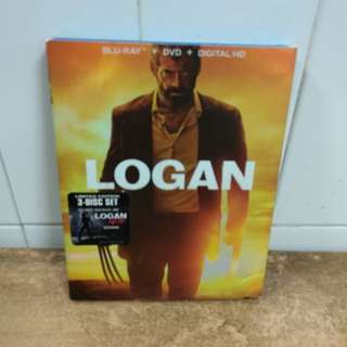 Logan - Limited Edition - 3-Disc Set - Blu Ray & DVD - US Import (original)