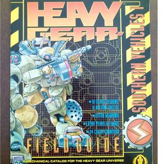 Heavy Gear Field Guide - Southern Vehicles RPG book