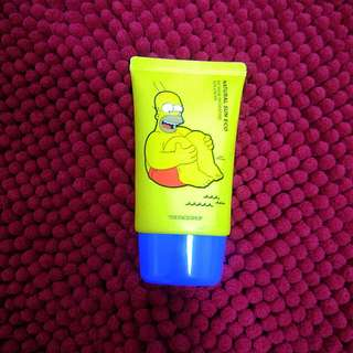 The Face Shop x The Simpsons (NO SHINE Hydrating Sun Cream)