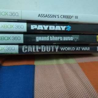 Xbox 360 Games (fast buyers $35 for all the games)