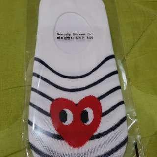 Com de Garcon Foot Socks