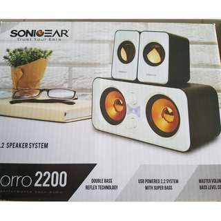 Sonicgear Speaker System