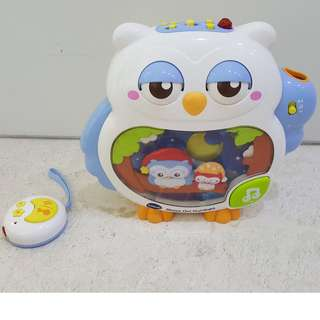 Sleepy Owl Night Light
