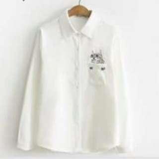Catty flood shirt