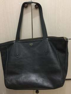 SALE Fossil sydney shopper herblue /heritage blue