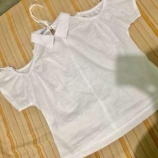 White cold shoulder