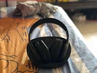 Super bass wireless bluetooth headphone