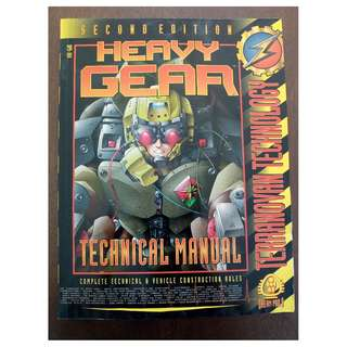 Heavy Gear 2nd Edition - Technical Manual, Terranovan Technology RPG book