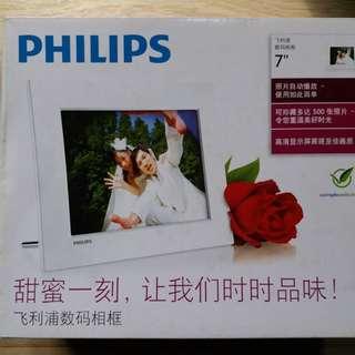 "PHILIPS DIGITAL PHOTO FRAME (7"")!"