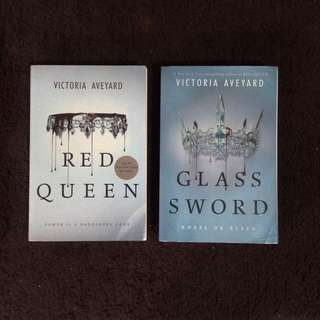 Red Queen Series (Books 1 & 2 INTERNATIONAL VERSION)