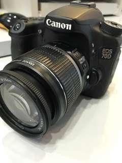 Canon 70D kit (18-55mm) SC:11k