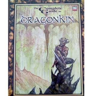 d20 system RPG book - Dragonkin