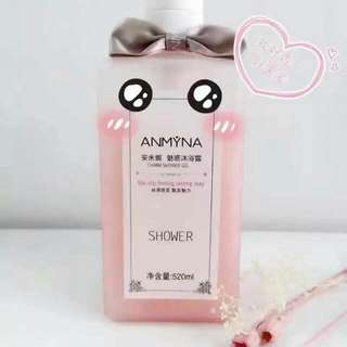 ANMYNA 🚿🚿 CHARM SHOWER GEL 安米娜魅惑沐浴露 🛁Anmyna charm Shower Gel 520ml 🛁Perfumed Body charming 🛀The elastic firming 🛀Whitening 🚿Soothing gentle 🚿Hydrating Freshening