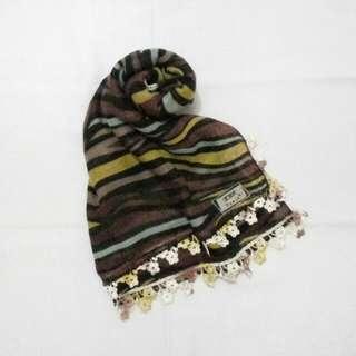 Hijab Square Motif Renda