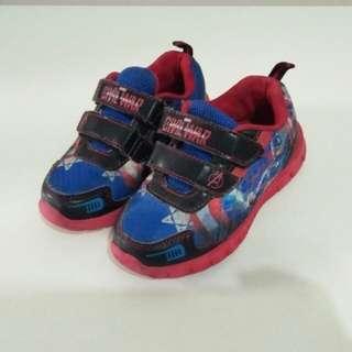 Kids Shoes Civil War Captain America