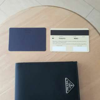 Authentic Prada M2 Wallet