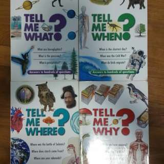 Tell me series. For Young scientists.