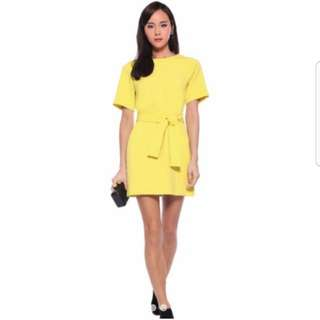 Love Bonito Yellow Dress (M)