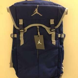 全新現貨 Jordan Royal Blue Backpack 經典色 經典藍 書包 背包 健身包 旅行包