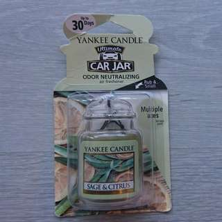 Yankee Candle Ultimate Car Jar (Sage & Citrus)