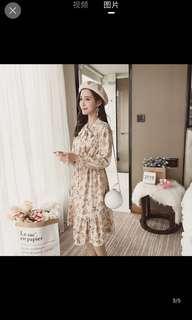 [P.O] Ulzzang Floral Dress