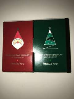 Innisfree Christmas special kit