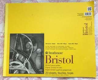 Strathmore Bristol Vellum Surface 14 inch x 17 inch