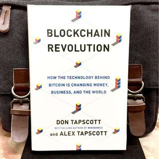# Highly Recommended《Bran-New + 2016 Hardcover Edition + The Cryptocurrency Blockchain Technology 》Don Tapscott - Blockchain Revolution: How the Technology Behind Bitcoin Is Changing Money, Business, and the World